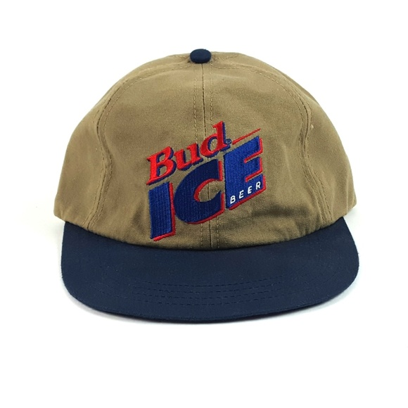 58a9bc6d Budweiser Accessories | Vintage 80s Bud Ice Beer Trucker Hat | Poshmark